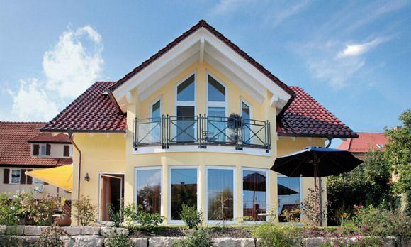 Casas con techos a dos aguas - Tipos de tejados para casas ...