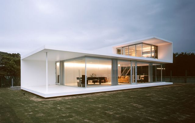 Casas minimalistas for Casa minimalista 90m2