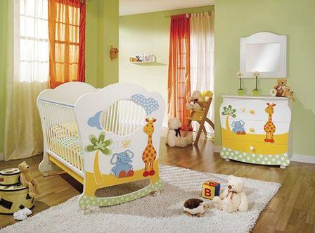 Como decorar la habitacion de mi hijo - Como decorar el dormitorio de un bebe ...