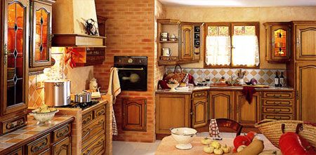 Decoracion de cocinas rusticas - Como disenar una cocina rustica ...