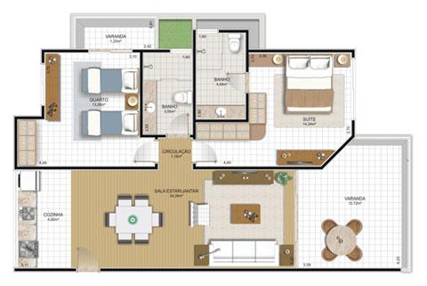 Dise os de planos de casas for Programa para distribuir una casa