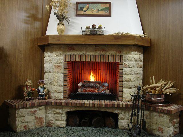 Modelos de chimeneas rusticas for Construccion de chimeneas de ladrillo
