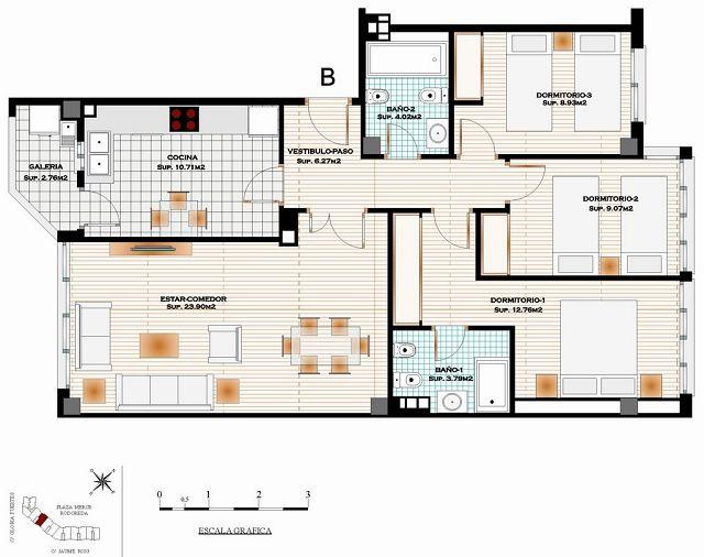 Presentacion de planos for Normas para planos arquitectonicos