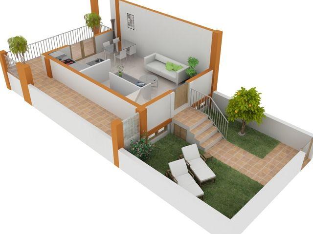 Programa para hacer planos de casas gratis for Programa diseno cocinas 3d gratis