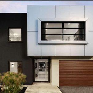 Casas minimalistas for Fachadas de viviendas minimalistas