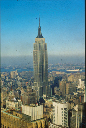 Empire State Building Paper Model
