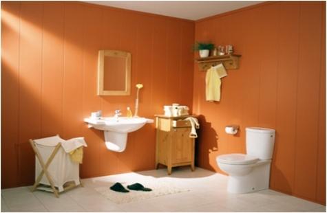 Materiales para el piso de los ba os for Pisos y paredes para banos modernos