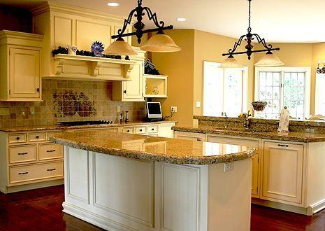 Elegir el color de la cocina for Idea de cocina de color topo