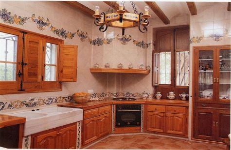 Azulejos de cocina - Azulejo para cocina rustica ...