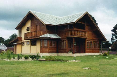 Casas prefabricadas de madera - Maderas para casas prefabricadas ...