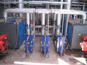 Centrales de agua caliente