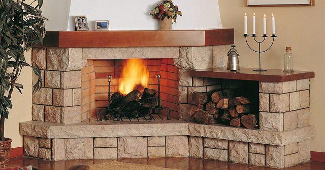 Chimeneas funcionales - Fotos de chimeneas decorativas ...