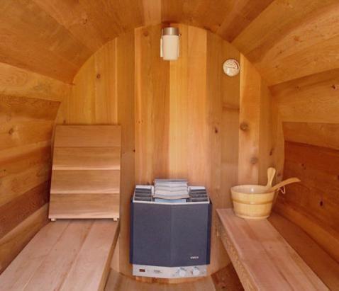 Como instalar un sauna en el ba o - Sauna finlandesa o bano turco ...