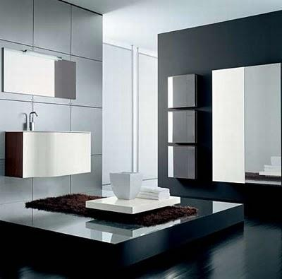 dise os exclusivos de ba os. Black Bedroom Furniture Sets. Home Design Ideas