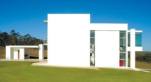 Fachadas for Una casa minimalista