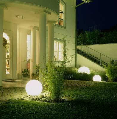 Iluminacion del patio - Iluminacion para patios y jardines ...