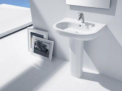 Instalacion de lavabos de pedestal - Lavabos de bano ...