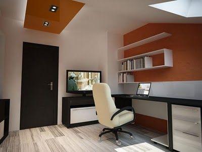 Instalar una oficina en casa for Muebles de escritorio modernos para casa
