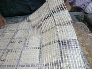 Mallas de fibras de vidrio