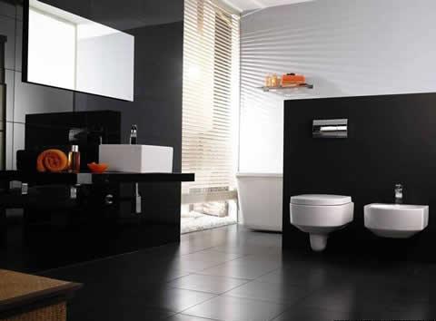 Materiales para el piso de los ba os for Modelos de banos para departamentos