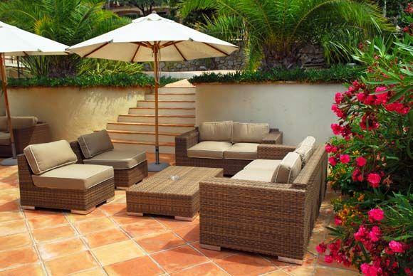 Mobiliario para jardines