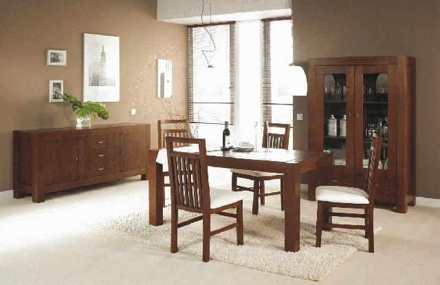 Muebles de comedor for Como decorar un living comedor rectangular