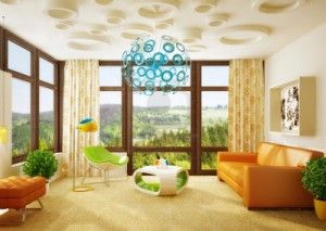 Muebles y espacio interior