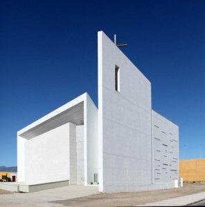 Piedra natural y arquitectura religiosa en Roquetas de Mar