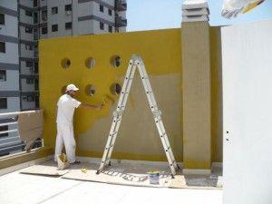 Pintura y construccion