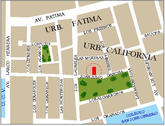 Localización De Una Casa En El Mapa: Planos De Ubicacion
