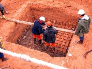 Replanteo de cimientos