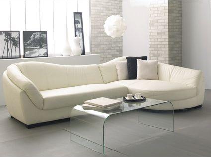 Los sofas elegantes for Sillones de sala modernos