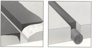 Tipos de juntas de concreto