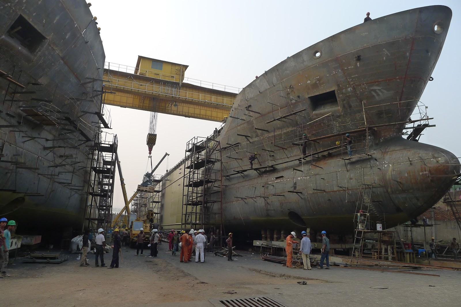 Materiales para la Construccion de barcos
