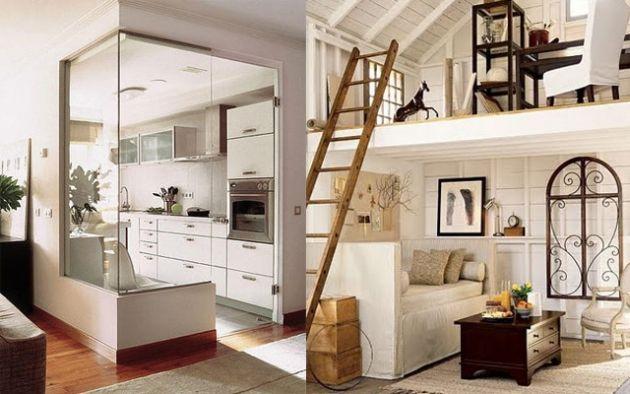 Aprovechar espacios reducidos Ideas de salas para espacios pequenos