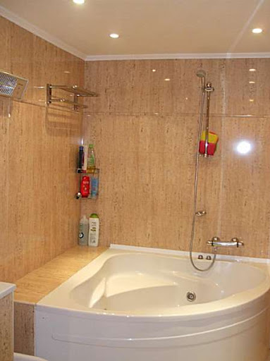 Cuartos de baño de suelo flotante