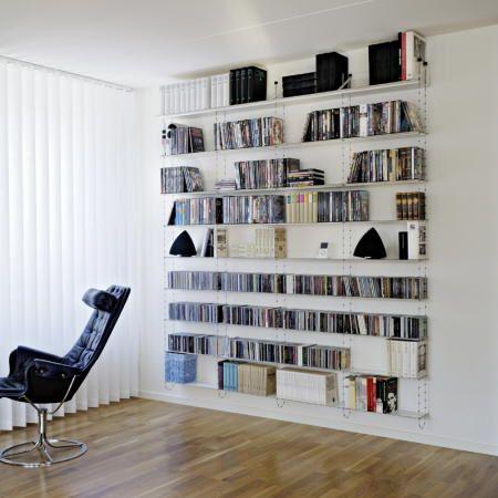Estantes para libros funcionales Librerias de pared