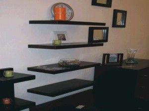 Estantes y muebles decorativos