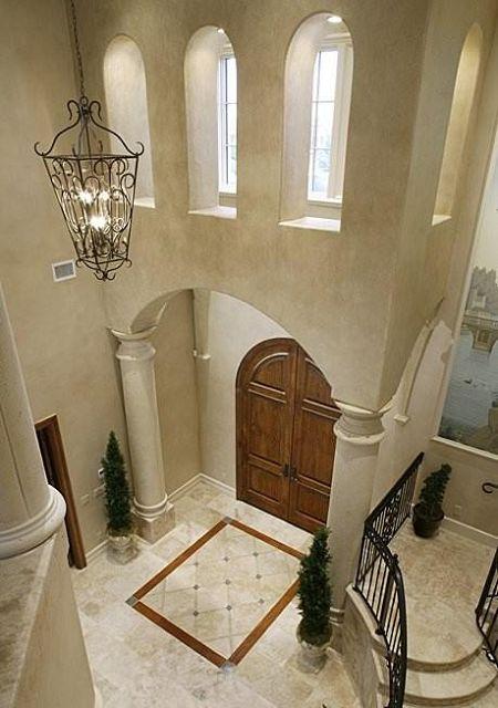 Iluminacion de recibidores - Fotos de recibidores de casas ...