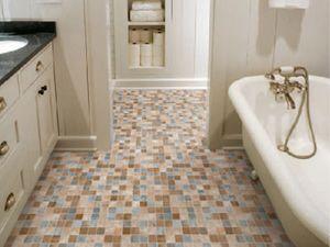 Materiales para pisos de ba o for Pisos ceramicos para banos pequenos