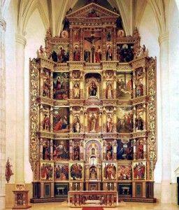 Partes de un retablo