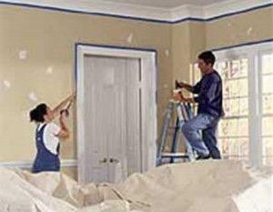 Pintar paredes interiores