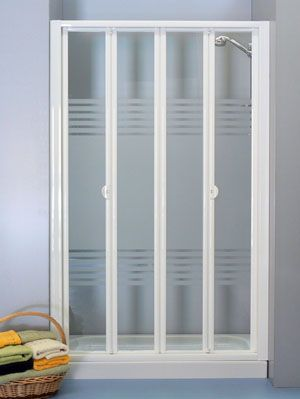 Puertas abatibles para duchas - Puertas para duchas de bano ...