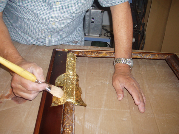 Restauracion de marcos - Como restaurar muebles ...