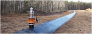 Sistema de ventilación del drenaje