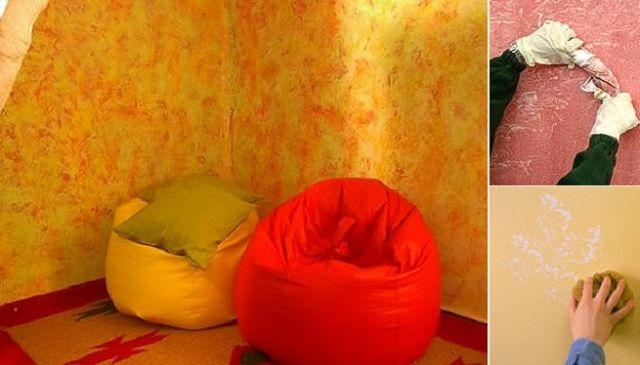 Tecnicas de pintura - Tecnicas de pintura paredes ...