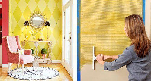 Tecnicas con pintura en paredes - Decoracion en paredes con pintura ...
