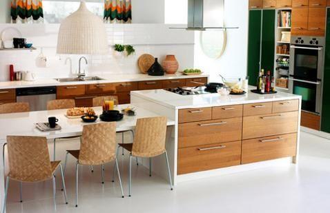 Algunas soluciones para remodelar mi cocina - Cucine con penisola ikea ...