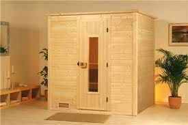 Cabinas de sauna en Madera