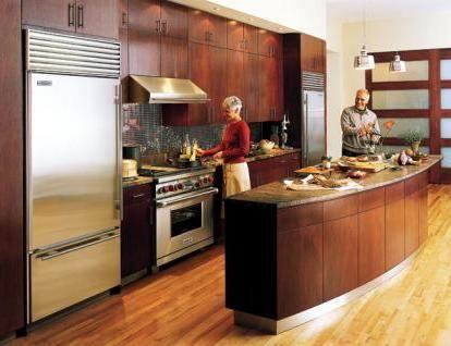 Cocinas con comedor integrado for Modelo de cocina integrado